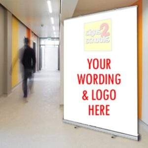 Freestanding Pull Up Banner 1000mm Width