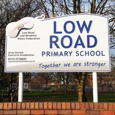 Main School Signs