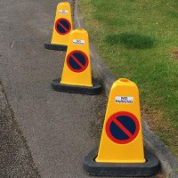 Traffic Cones Child Road Safety