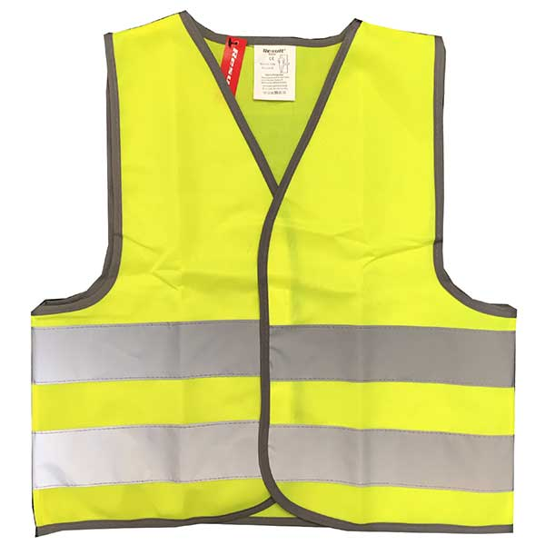 Hi Vis Front Childrens Jacket