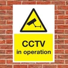 Security & CCTV Signs