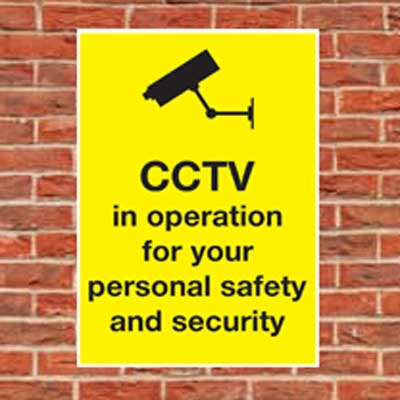 cctv in operation personal safety and security