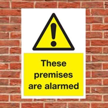 Premises Alarmed