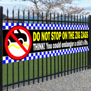 do not park on zig zags