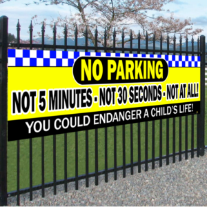 NO PARKING - Not 5 Minutes - Not 30 Seconds - Not at all