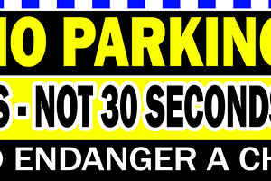 NO PARKING - Not 5 Minutes - Not 30 Seconds - Not at all alternate image