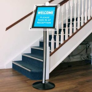 Hi-Light Welcome Reception Stand Message Sign