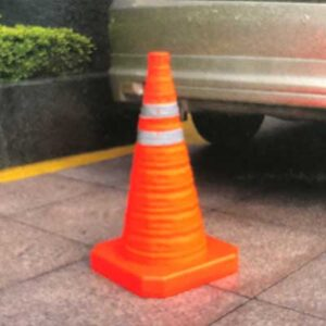 pop up traffic cones