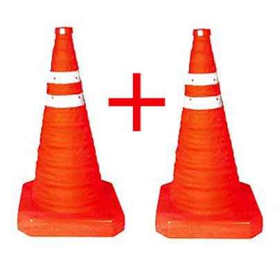 pop up safety traffic cones