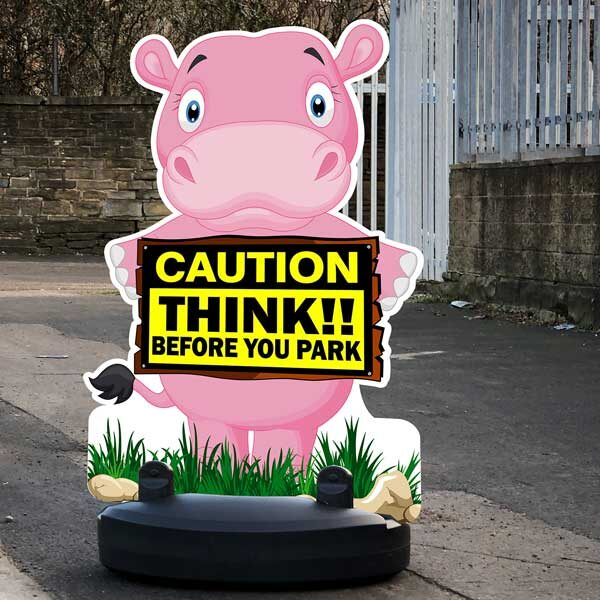 Caution Road Safety Sign