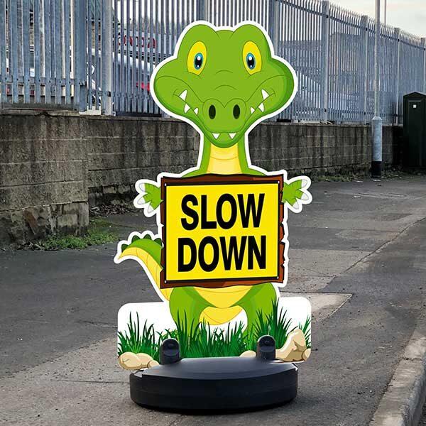 Road Children Safety Sign