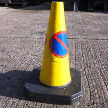 small-yellow-cone