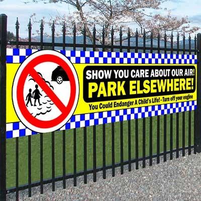 Park Elsewhere Banner