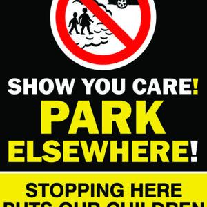 Show You Care - Park Elsewhere Sign alternate image