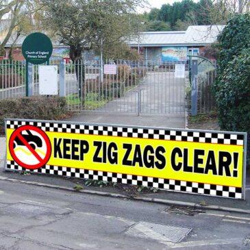 Zig Zag Banner