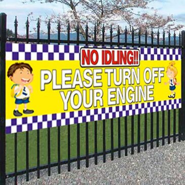 PVC Safety Banner