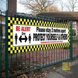 Covid-19 Safety Banner