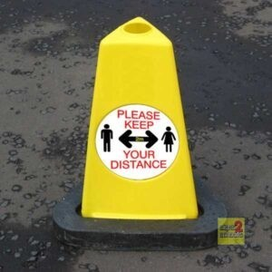 Keep Your Distance Cone