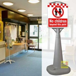 Warning Children Sign