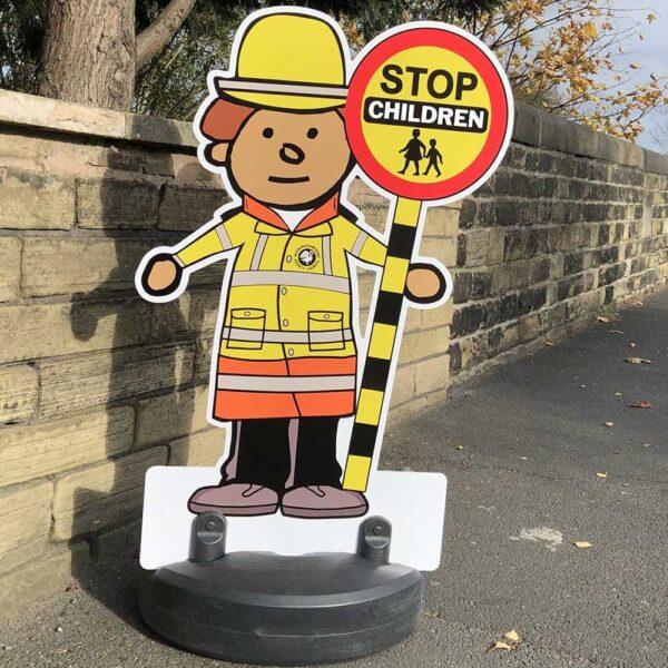 Patrol Officer Road Safety Man