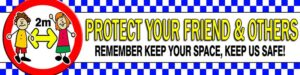 BE ALERT - COVID-19 Protect Your Friend & Others alternate image