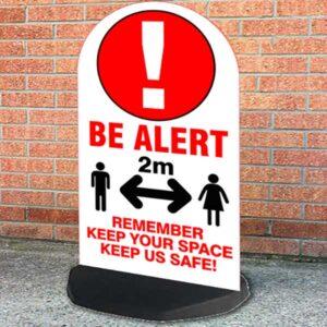 be-alert-sign