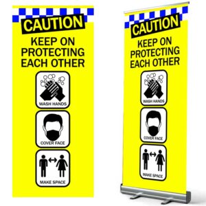 Caution Keep On Protecting Each Other