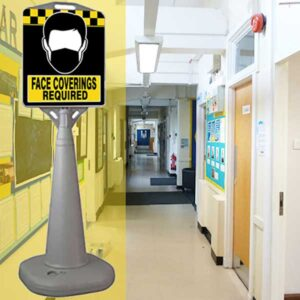 corridor-bus-stop-mask-sign