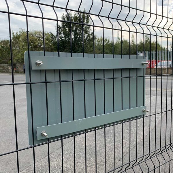 gate fence fixing plate