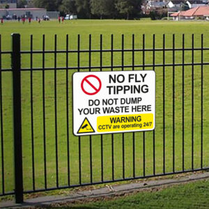 No Fly Tipping Sign alternate image