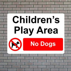 Children's Play Area No Dogs