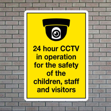 24 Hour CCTV In Operation