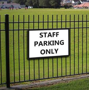 Staff Parking Only alternate image