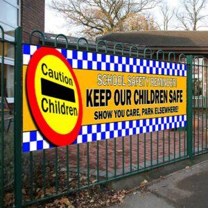 Keep Our Children Safe Safety Banner