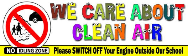 No Idling Clean Air Turn Engine Off
