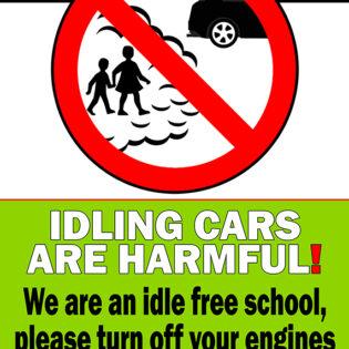 Idling Cars Are Harmful - Idle FREE School alternate image