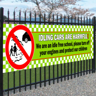 Idle FREE School Safety Banner