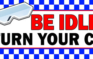 Be Idle FREE Turn Your Car Key Banners alternate image