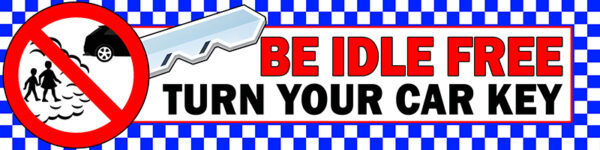 Be Idle FREE Turn Your Car Key Banner