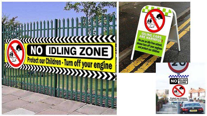No idling outside schools