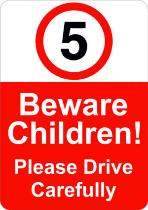 5mph Beware Children alternate image
