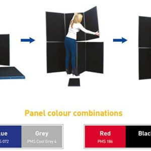 7 Panel Kit with Triangular Table Top alternate image