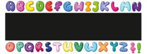 Alphabet Chalkboard alternate image