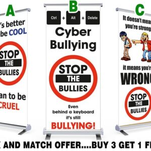 Anti Bullying Mix and Match Pull Up Banner Offer
