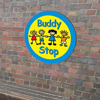 Buddy Stop Sign