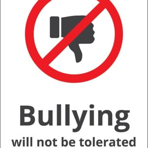 Bullying will not be tolerated alternate image