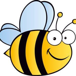 Bumble Bee Fun Character Aluminium Wall / Fence Sign alternate image