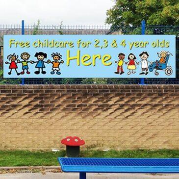 Childcare Banner