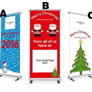 Christmas Pull Up Banner