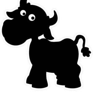 Cow Chalkboard alternate image